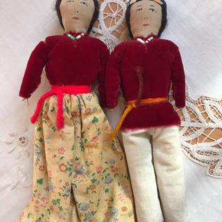 ☆あげます☆インディアンのお人形