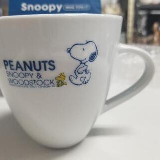 非売品!peanuts スヌーピー&ウッドストック マグカップ
