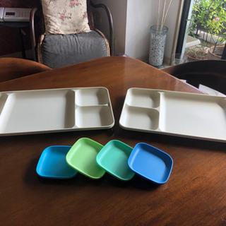 ランチプレート2枚 + 小皿4つ