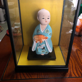 日本人形 ガラスケース