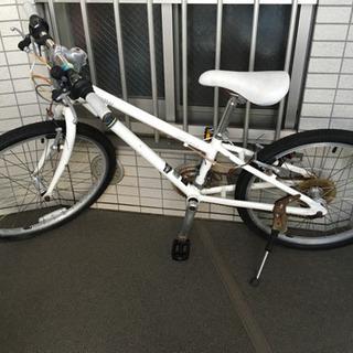 子供サイズのマウンテンバイク