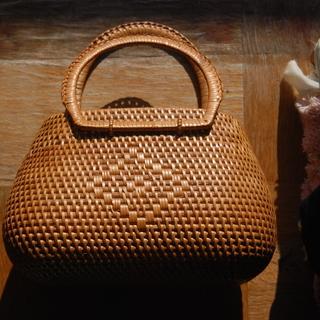手作りの竹製 バック
