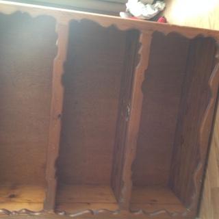 ハンドメイド木製棚