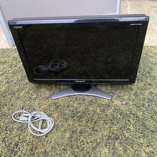 ◉2010年製 SHARP AQUOS20型液晶テレビ
