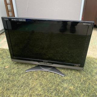 2010年製 SHARP AQUOS32型液晶テレビ