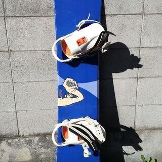 【お取引中】RIDEスノーボード・FLUXバインディング