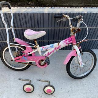 子供用自転車②補助輪付き