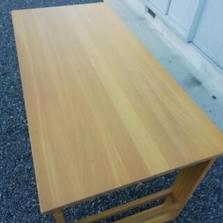 ダイニングテーブル 1350x650x725 天然木