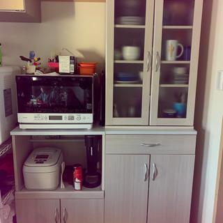 ニトリ 食器棚 キッチンボード ほぼ新品