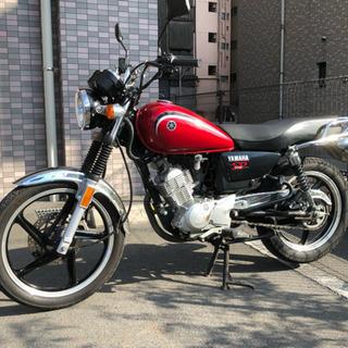 【希少】YB125SP 赤