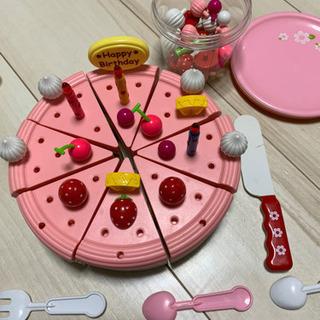 子供ケーキのおもちゃ。