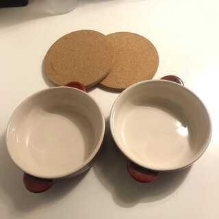 ★★美品★★ 丸グラタン皿 耐熱皿 食器