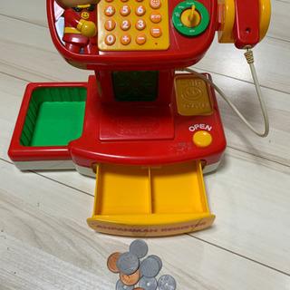 子供おもちゃ。アンパンマン レジスター