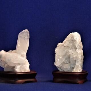 水晶標本  阿吽