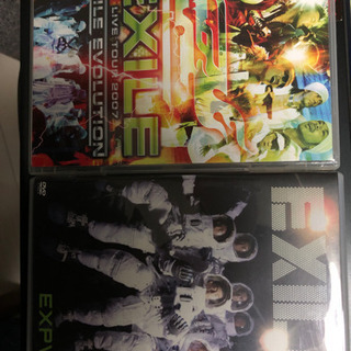 EXILE(CD &ミュージックビデオ)2点セット