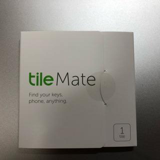 Tile Mate 1個売り切り。探し物/スマホが見つかる 紛失...