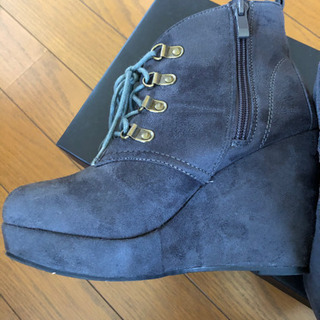 ブーツ グレー Sサイズ