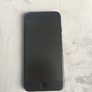 SIMフリーiPhone7128G ジェットブラック美品