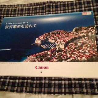 Canonカレンダー2019 世界遺産を訪ねて