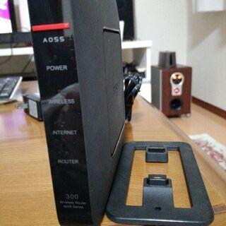 バッファローの無線LANルーター