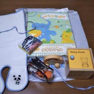 SALE!子どもの木のおもちゃ+タオルケットセット