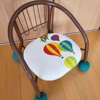 子供用パイプ椅子 音無し 滑り止め付