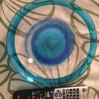 沖縄琉球ガラス 新品 器 食器 果物のり