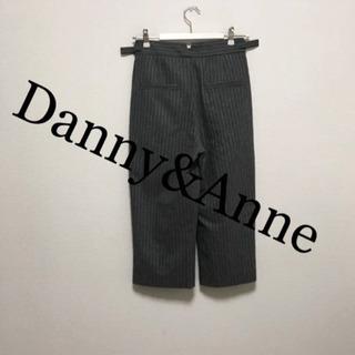 Danny&Anneストライプクロップドパンツ