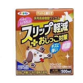 アサヒペン - ペットと暮らす床用高級樹脂ワックス - 500ML