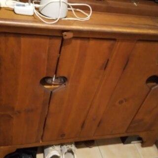 カントリー家具 下駄箱です
