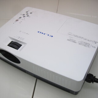 =M= ELMO液晶プロジェクター 形式(CRP-26J) 通電...