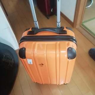 キャリーバッグオレンジ色