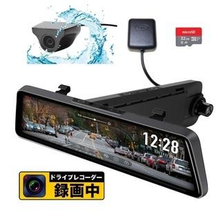 【新品・保証付】最新機能ドライブレコーダー 前後2カメラ GPS...