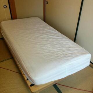 無料。中古シングルベッド 引取対応のみお願いいたします。Free...