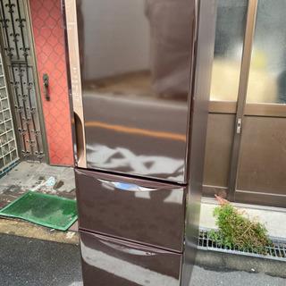 HITACHI  3ドア冷蔵庫 375L  【2017年製】