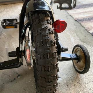 子供用自転車 補助輪付! - 自転車