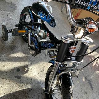 子供用自転車 補助輪付!の画像