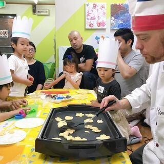 外国人シェフと英語クッキング (クリスマスクッキー作り) in 大阪