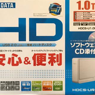 ハードディスク 1.0TB HDCS-U1.0R2