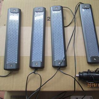 車内用 LED照明のセットです。(バータイプとテープタイプ)中古品