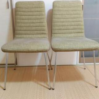 【取引先決定しました】ニトリの椅子2脚セット