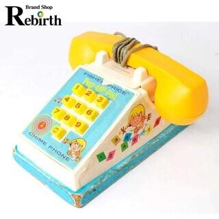 フィッシャープライス 木製 チャイムホン 電話 NT