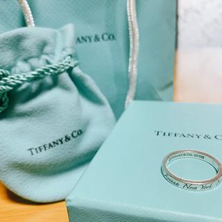ティファニー指輪 Tiffany