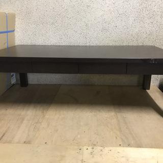 NITORI ニトリ 木製 ローテーブル ちゃぶ台 座卓 ブラウ...