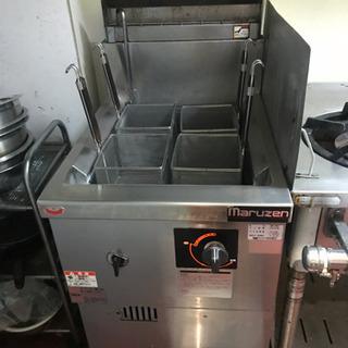 ゆで麺機、冷凍麺釜 マルゼン MRF-046C プロパンガス 業...