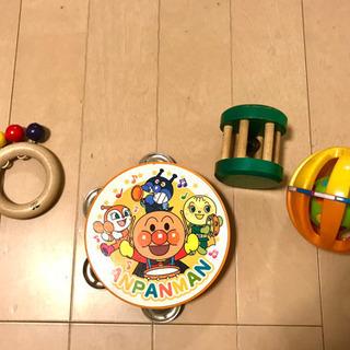 アンパンマン&乳幼児用おもちゃ  4点セット