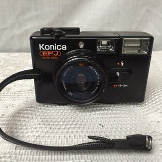 中古 コニカのフィルムカメラ Konica EFJ AUTO D...
