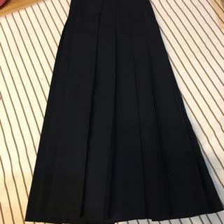 ひだスカート② 紺色中学 丈59cm