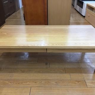 【トレファク鶴ヶ島店】無印良品 引き出し付ローテーブル