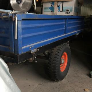 値下げ 農耕用 トラクター トレーラー